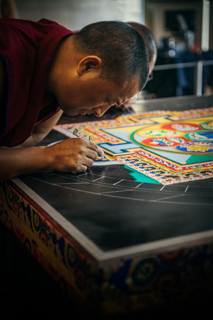 What is a Mandala? A mandala is a spiritual and ritual symbol in Asian cultures.